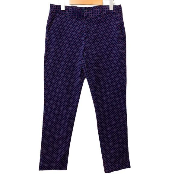 Tommy Hilfiger Checkered Slim Ankle Pants